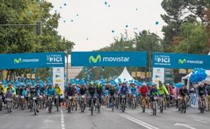 Más de 100.000 ciclistas se sumaron a la fiesta en Madrid
