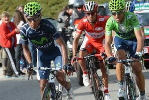 Así vivieron la etapa del día Purito, Contador , Valverde...
