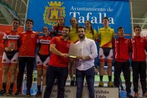 Madrid se impone en la Copa de España de pista de Tafalla