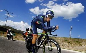 Malori logra la victoria en la crono del Tour de San Luis