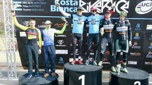Mantecón defiende su liderato en la Costa Blanca Bike Race