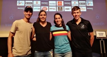 Mario Mola lidera la Triarmada en la Copa del Mundo de Banyoles