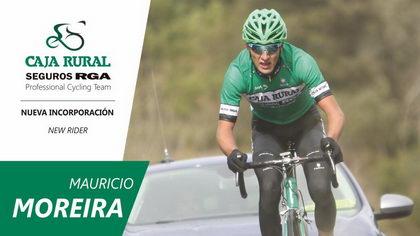 Mauricio Moreira cierra la plantilla 2018 del Caja Rural-Seguros RGA