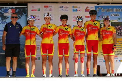 Mavi García acaricia la victoria en la primera etapa del Tour de Ardeche
