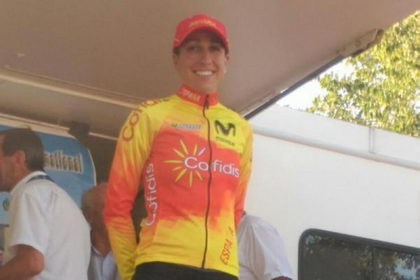 Mavi García ya es decimotercera en el Tour de Ardeche
