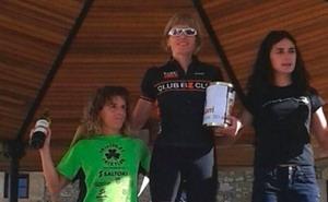 Meritxell Henales (BzTeam) campeona Duatlón montaña Euskadi