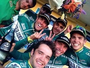Miguel Ángel Benito logró la Vuelta a Palencia