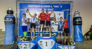 Miriam Casillas y Uxio Abuín campeones de España de Triatlón