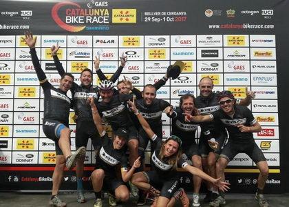 Mónica Carrascosa la corredora más veterana en terminar la Cataluña Bike Race