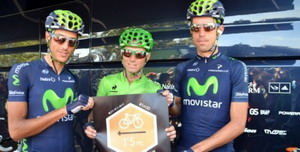 Movistar Team, con la campaña #1m50