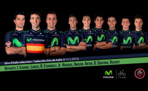 Movistar Team decide su nueve para el Giro de Italia