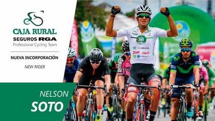 Nelson Soto, velocidad colombiana para Caja Rural-Seguros RGA