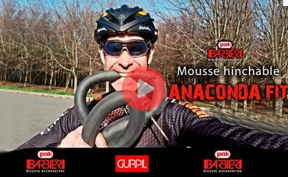 Novedad Gravel: Mousse + Camara  Mousse hinchable Anaconda FIT