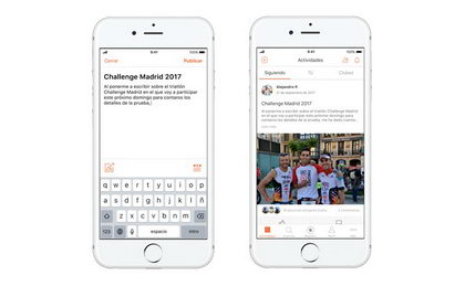 Novedades en Strava: Ya permite postear y presenta su nuevo feed