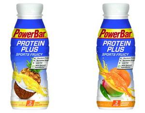 Nuevas barritas y batidos Powerbar con proteínas