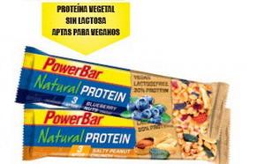 Nuevas barritas Powerbar Natural Protein