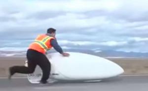 Nuevo récord mundial en bicicleta: Más de 140 km/h
