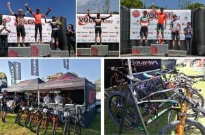 OLYMPIA sube al podio en la Volcat y en la Vuelta a Ibiza 2017