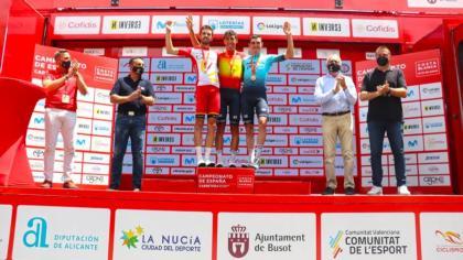 Omar Fraile flamante campeón de España de ciclismo 2021