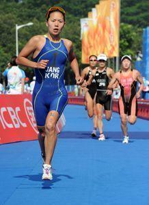 Dominio nipón en el triatlón de los Juegos Asiáticos