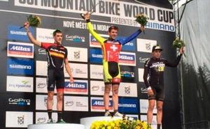 Pablo Rodriguez sube al podio en Nove Mesto