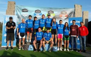 Parada y Senra continúan líderes del Open de Galicia Anova XCO