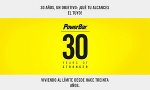 Participa en el 30 aniversario de Powerbar