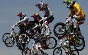 Participacion record en el campeonato del mundo de BMX