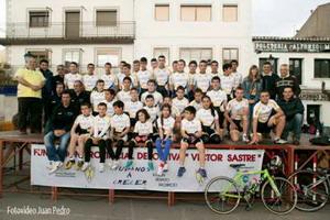 La FPD Víctor Sastre presentó sus plantillas 2013