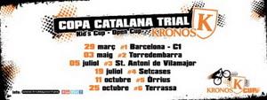 Pol Tarrés y Alba Hidalgo, nuevos líder de la Copa Catalana de Trial