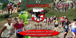 El XV Maratón Alpine Galarleiz (Zalla, Vizcaya)