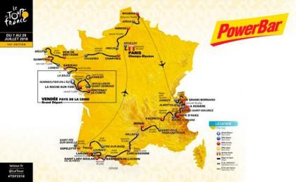 Powerbar un año más como proveedor oficial del Tour de Francia
