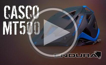 Presentación al detalle del casco MT500 de Endura