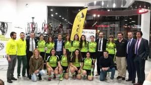 Presentación del Equipo femenino Nómada Nissan Iberauto Retelec