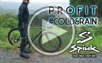 Presentación gama PROFIT Cold & Rain by Spiuk perfecto para el frío y la lluvia