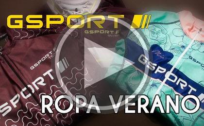 Presentación gama de ropa de verano GSport