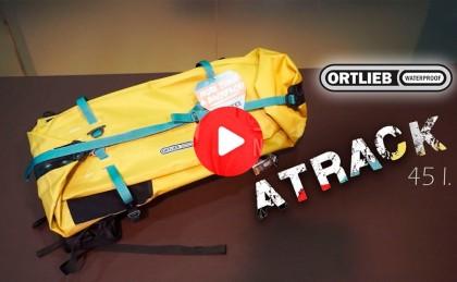 Presentación: Mochila impermeable Ortlieb Atrack 45l, espíritu aventurero