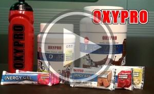 Presentación productos Nutrición deportiva OXYPRO