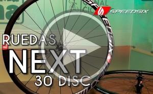 Presentación: Ruedas Speedsix NEXT 30 DISC