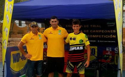 Presentado el Team Comas & WD40 con Dani Comas y Rafa Tibau