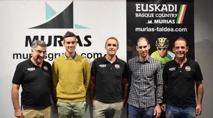 Presentados Cyril Barthe y Julien Loubet por el Euskadi Basque Country - Murias Taldea