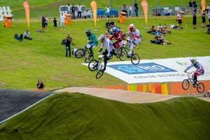 Probado el circuito olímpico de BMX