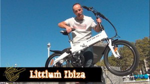 Probamos la bicicleta urbana eléctrica Littium Ibiza