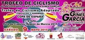 Puerto Lumbreras acoge el VI Trofeo Internacional de Ciclismo Adaptado