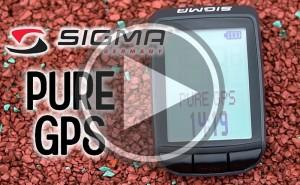 Pure GPS el nuevo ciclocomputador de Sigma Sport