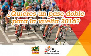 ¿Quieres un pase doble para la Vuelta España 2016?