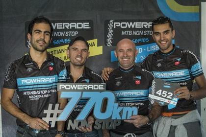 Quinto aniversario de la Powerade Non Stop Madrid-Lisboa con 750 participantes