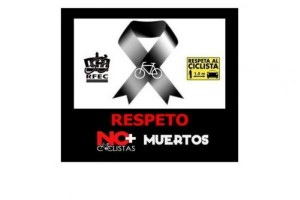 Respeto. No + ciclistas muertos #PorUnaLeyJusta