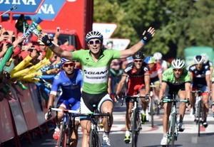 Resumen en vídeo quinta etapa de La Vuelta