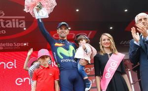 Reto superado para Valverde y Movistar Team en el Giro